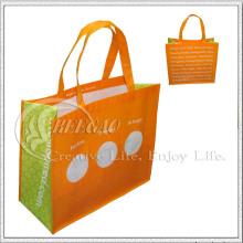 Bolso de compras no tejido manejado (KG-NB020)