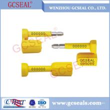 GC-B006 diverses couleurs disponibles joint de boulon de récipient à verrouillage automatique