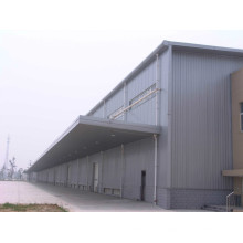 Prefab Large Span Steel Space Truss Factory Shed