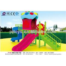 JS07401 Popular Kids Outdoor Plastic Playground Equipment