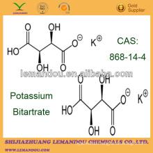 food grade potassium hydrogen tartrate