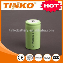 OEM welcomed NI-MH rechargeable battery size D 2500mah to 10000mah