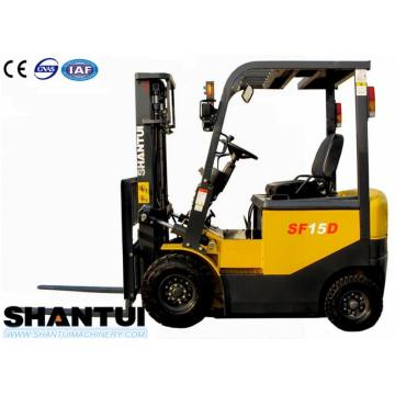 Mini 1.8 ton electric forklift dengan motor DC