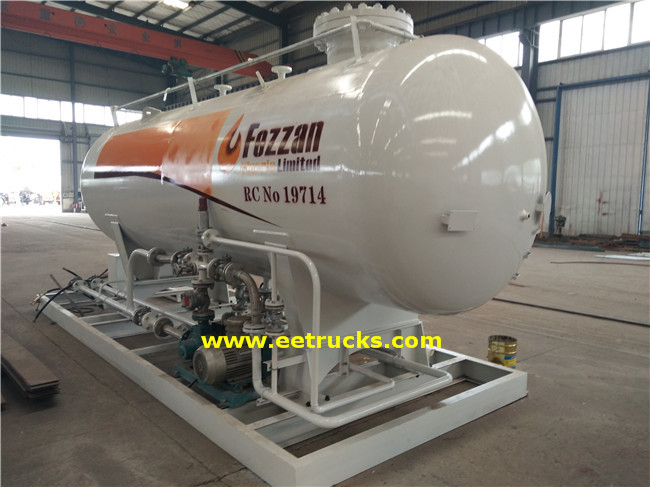 LPG Skid Filling Stations