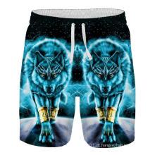 Nova chegada de shorts masculinos largos estampados em 3D