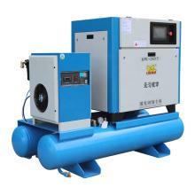 16 bar Screw Air Compressor Laser Screw Air Compressor Tank Air Dryer