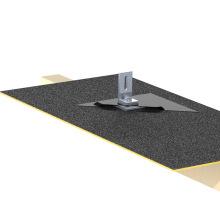 Montaje en panel solar para techo de fibra de tejas Tejado Kit solar