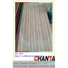 Qualidade boa do linyi para o folheado de madeira projetado