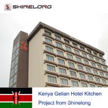 Kenya Gelian Hotel Kitchen Project from Shinelong