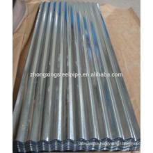 Contenedor de hojas de acero acanaladas galvanizadas SGCC