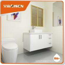 Cabinet de toilette moderne pour salle de bain à l'heure