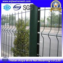 CE Metal recubierto de metal Quick Post Garden Fence