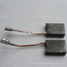 electro graphite carbon brush for angle grinders power plant