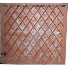 moules de mosaïque de verre de résine de fibre