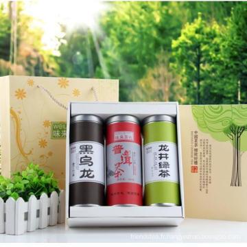 La Chine cadeau emballé thé vert