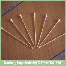 cotton swab with 4mm cotton tip