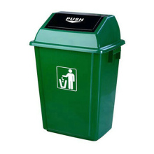 60 Liter Push Plastic Outdoor Trash Bin (YW0024)