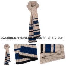 Stripe Patterns Hiver Long Style Écharpe tricotée