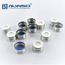 18mm Silber Open Top Magnetschraube für Headspace Durchstechflaschen
