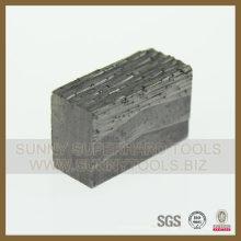 Segment de diamant de granit de 2500mm / segment de diamant de marbre / outils de diamant fabriqués en Chine