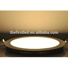 China al por mayor 12W AC90-265V SMD2835 luz del panel redondo
