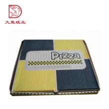 Boa qualidade tamanho personalizado caixa criativa personalizado caixas de pizza fotos