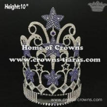 Wholesale Crystal Pageant Crowns With Star