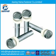 Parafuso de solda galvanizado de aço carbono, conector de cisalhamento