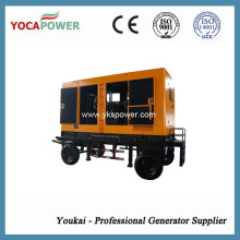 Generador diesel silencioso 300kw / 375kVA por el motor de Shangchai