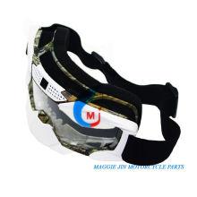 Motorrad-Zubehör Motorrad-Schutzbrillen der einzelnen Farbe Elastikgurt