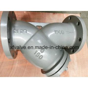 150lb Cast Steel Wcb Flange/Flanged End Y Type Strainer