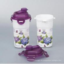 Einfach zu bedienen, schöne 450ml Plastikbecher