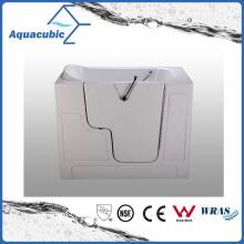 Acrylic Walk-in Wheelchair Safe Bathtub for Disabled (AB-2852GW)