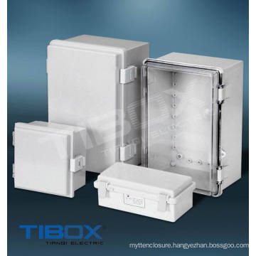 Plastic Box -Plastic Latch + Hinge Type