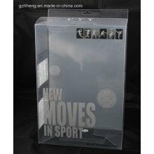 Boîte d'emballage en plastique de rectangle de polystyrène (boîte d'impression en soie)
