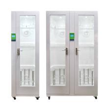 Шкаф для хранения для дезинфекции эндоскопов с двойной дверью