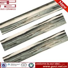 новые кухни, OEM 150X900 темно-синий цвет керамической деревянной посмотри плитка для балкона
