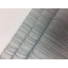 Rayon-Polyester-Spandex-Streifen-Krepp-festes Gewebe