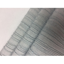 Rayonne Polyester Spandex Stripe Crepe Solid Fabric