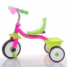 Triciclo do bebê com assento mais confortável