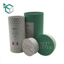 Высокое качество крафт-бумага серая доска упаковывать пробки чая кэдди коробки с крышкой