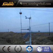 Petit générateur de vent d'alimentation d'énergie de système de surveillance de 300W bon prix