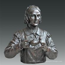 Estatua Grande Estatua Enfermera Nightingale Bronce Escultura Tpls-083