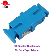 Sc Simplex Singlemode Fiber Optic Adapter Without Ear