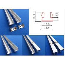 Perfil de alumínio para Iluminação LED SMD5050 5630 3528