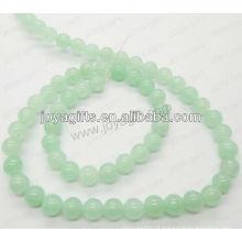 Grânulos redondos do jade da uva / 4mm / 6mm / 8mm / 10 / mm / 12mm classe A