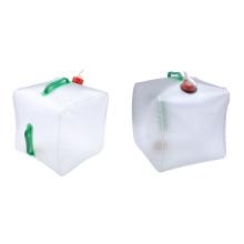 Dobla tubo de agua plegable cubo de almacenamiento