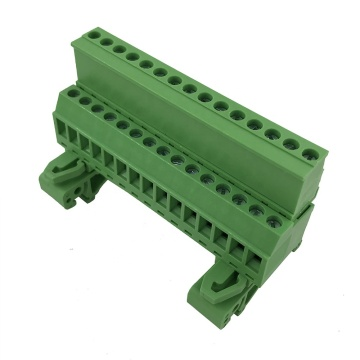 15pin 5,08 mm Abstand 35 mm Din Rail Klemmenblock