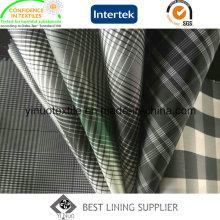 100% полиэстер Men′s куртка подкладочной ткани проверить подкладка