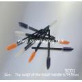 lipgloss brush wholesale cheap disposable mascara brush